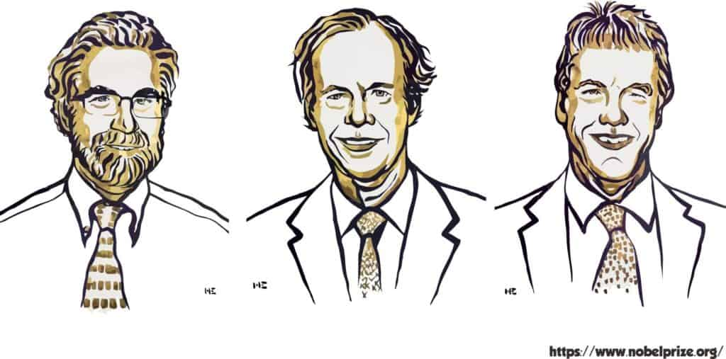 Gambar peraih Nobel Fisiologi/Kedokteran 2019