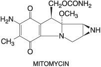 Gambaran molekul mitomycin