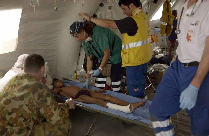 Penanganan kasus trauma pada bencana alam