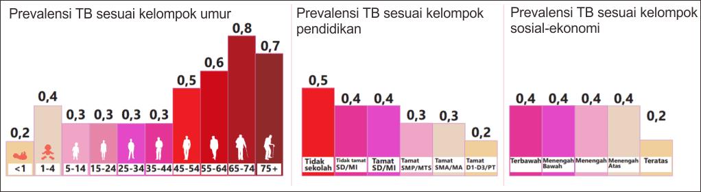 Faktor risiko infeksi tuberkulosis di Indonesia