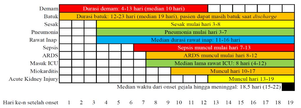 Perjalanan penyakit COVID-19 berat