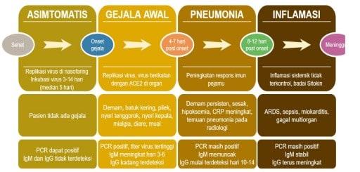 Perjalanan penyakit COVID-19