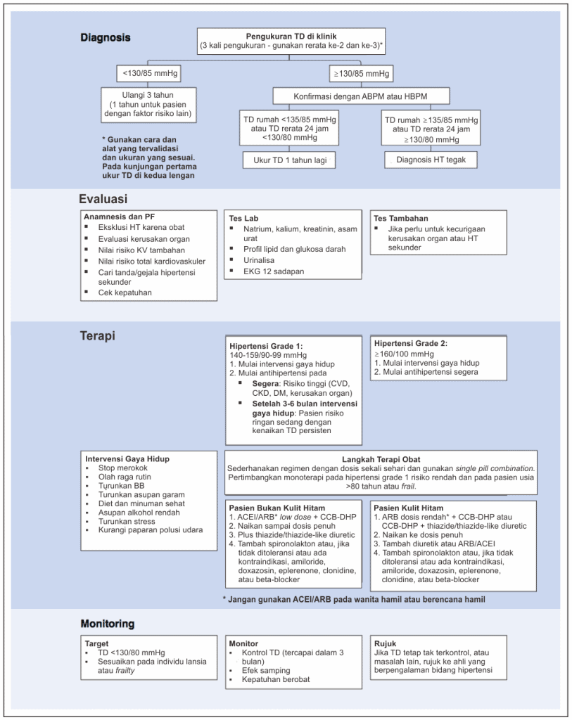 Rekomendasi layanan optimal pasien hipertensi