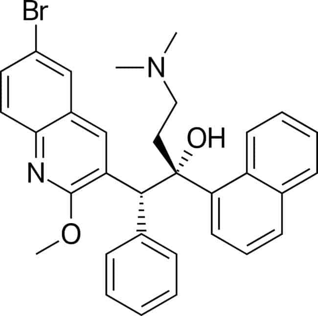 Struktur bedaquiline