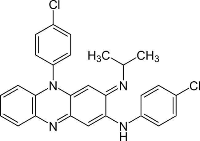 Struktur clofazimine