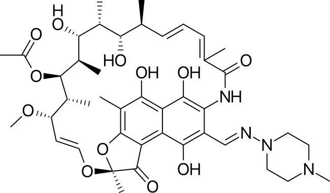 Struktur rifampin