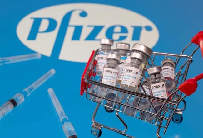 Vaksin Covid-19 produksi Pfizer yang merupakan jenis vaksin Covid-19 mRNA
