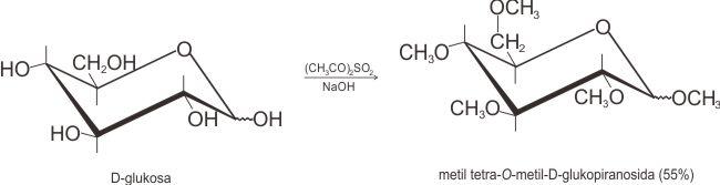Sintesis eter Williamson dari D-glukosa