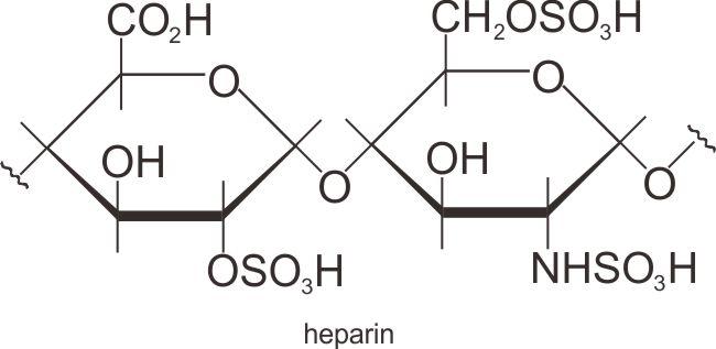 Struktur heparin, karbohidrat kompleks dengan fungsi khusus